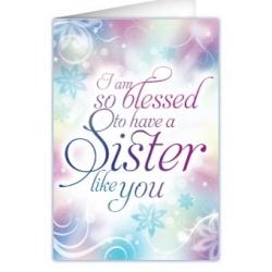 Kaartje voor zusters
