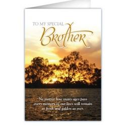Kaartje voor broeders