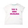 T-shirt 100% mini muslima