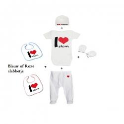 Baby geboortekit 'I love islam'
