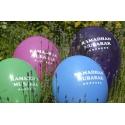 Ballonnen 'Ramadan Mubarak'