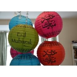 Eid Mubarak Lampion - 5 verschillende kleuren