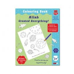 Kleurboek 'Allah created everything'