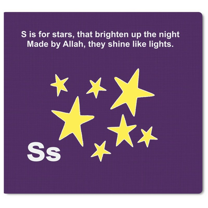 islam abc book Abc of islam a is for allah lord of the universe, who is one, he made the earth,  stars, and sun he made angels to worship and pray, he made man from a dab.