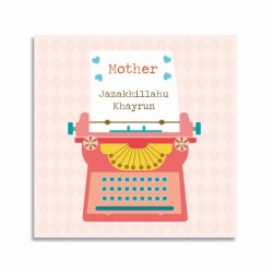Kaartje Jazakullahu khayrun - Thema Moeder