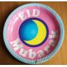 Eid Mubarak borden Blauw