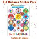 Eid Mubarak Stickerpack 2