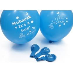 Ballon 'Mubarak' jongens