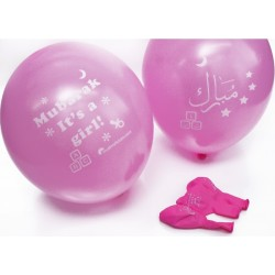 Ballon 'Mubarak' meisjes