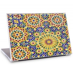 Laptopsticker Geometrie zon