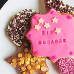 Koekjes bakvorm Eid Mubarak
