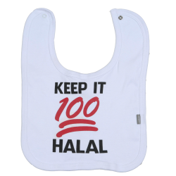 Slabbetje Keep it 100 Halal