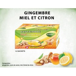 Thee gember/honing/citroen