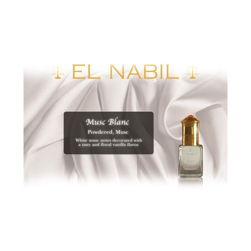 el nabil parfum musc blanc. Black Bedroom Furniture Sets. Home Design Ideas