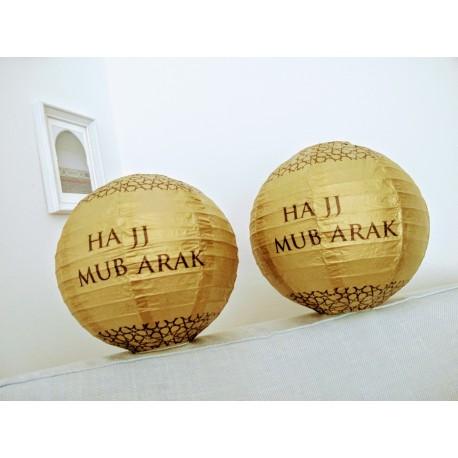 Hadj Mubarak lampionnen