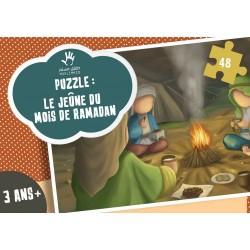 Puzzel 5 zuilen: sawm (vasten)