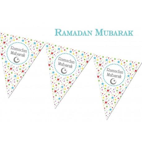 Ramadan vlaggenlijn Sterren