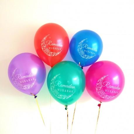 Ramadan Mubarak ballonnen mix