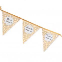 Ramadan Mubarak banner goud