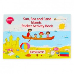 Kleur- en stickerboek thema zon & zee