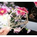 Eid Mubarak decoratie