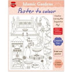 Kleurposter Arabische tuinen